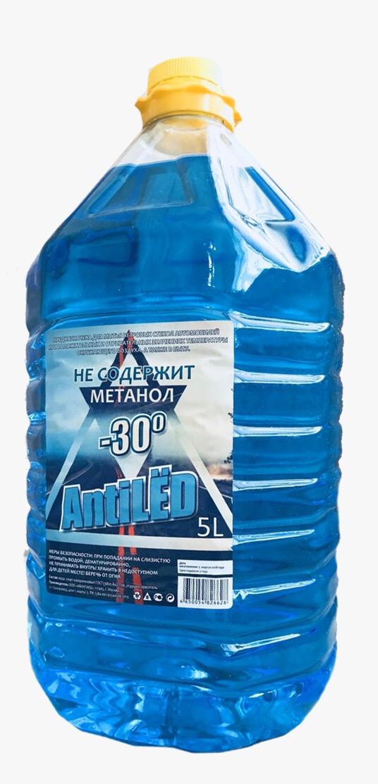 Жидкость стеклоомывающая SNOW QUEEN 5л синяя