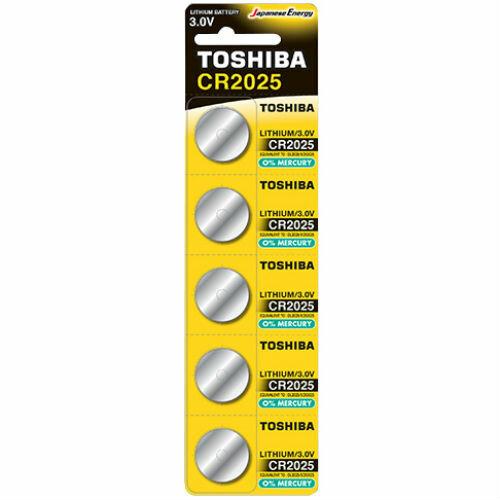 Батарейка 2025 TOSHIBA
