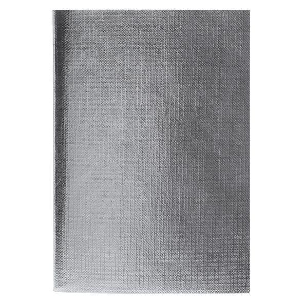 Тетр. А4  96л бумвин. Хатбер Metallic серебро