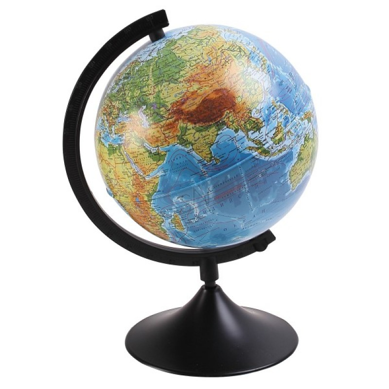 Глобус физический 210мм