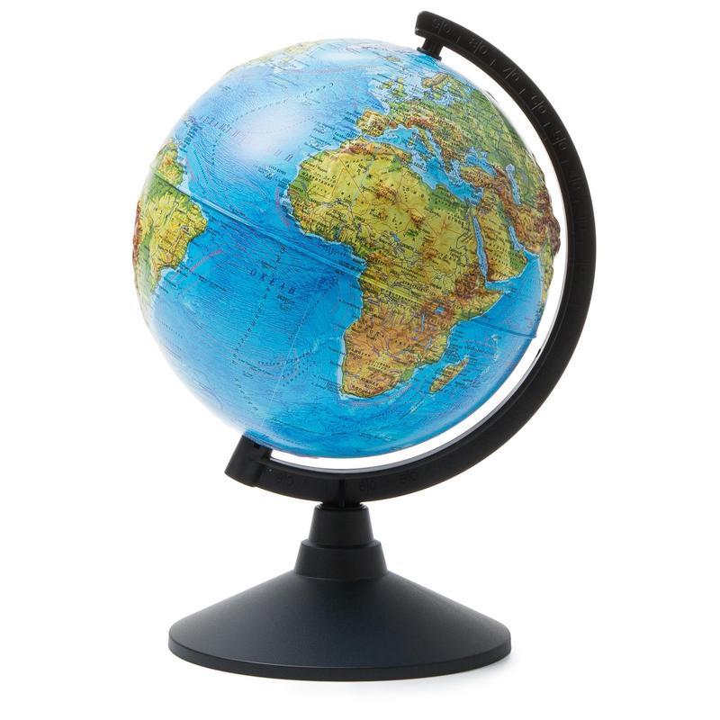 Глобус физический 210мм рельефный