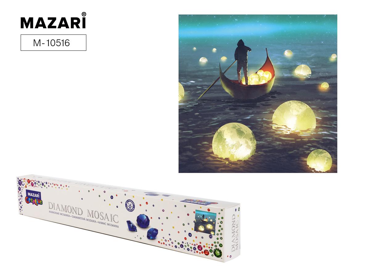 Алмазная мозаика 30*30см Светящиеся шары