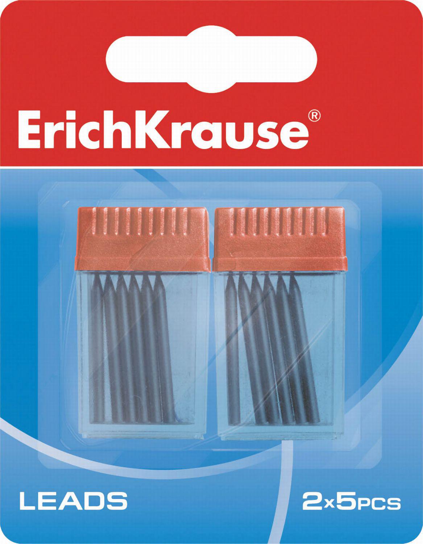 Грифель д/циркуля ErichKrause 2 контейнера по 5шт блистер
