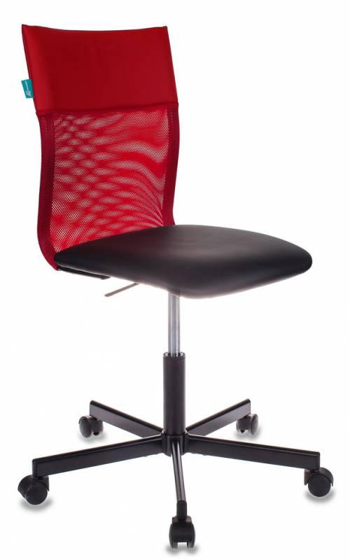 Кресло Бюрократ CH-1399/R+B спинка сетка красн. сиденье чер.