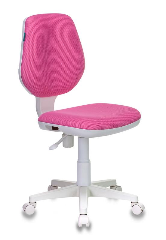 Кресло детское Бюрократ CH-W213/TW-13A розовый пласт. белый