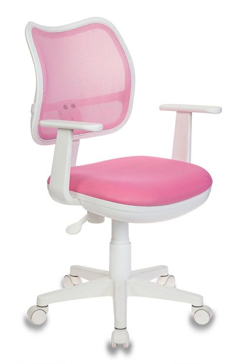 Кресло детское Бюрократ CH-W797/PK/TW-13A розовый