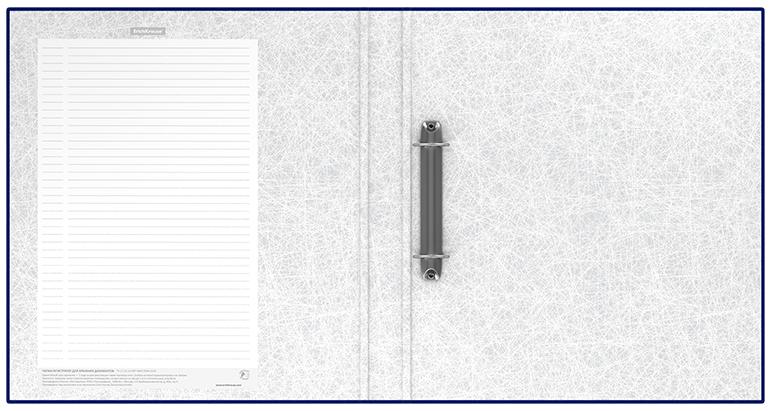 Папка регистр. ErichKrause 35мм Standard синий