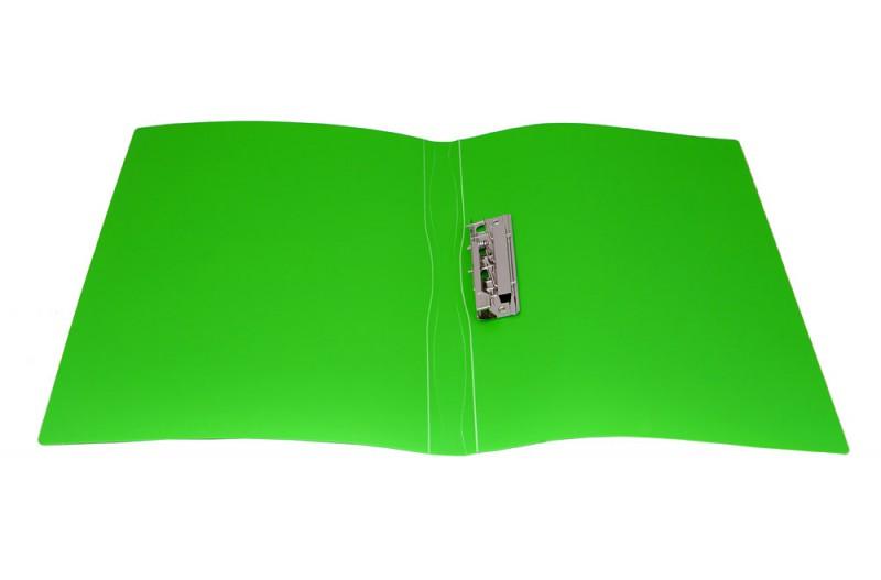 Папка с бок.мет.приж. Бюрократ Galaxy 0,7мм ассорти