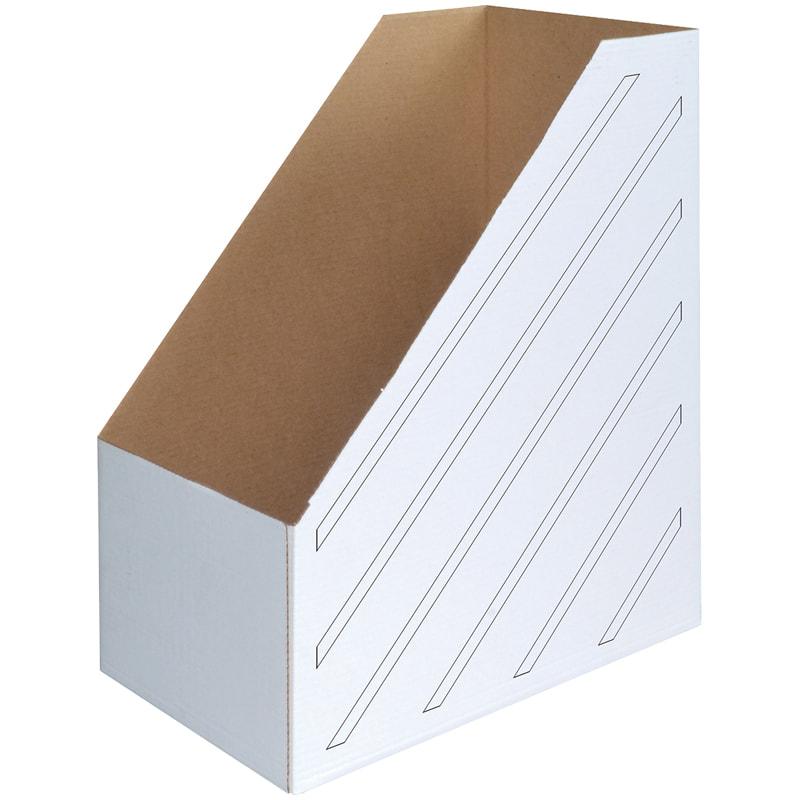 Накопитель документов, Стойка 150мм белая
