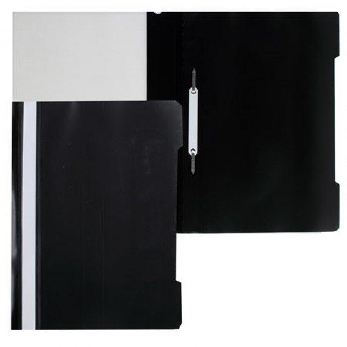 Папка скоросшиватель Бюрократ пласт. А4 черная