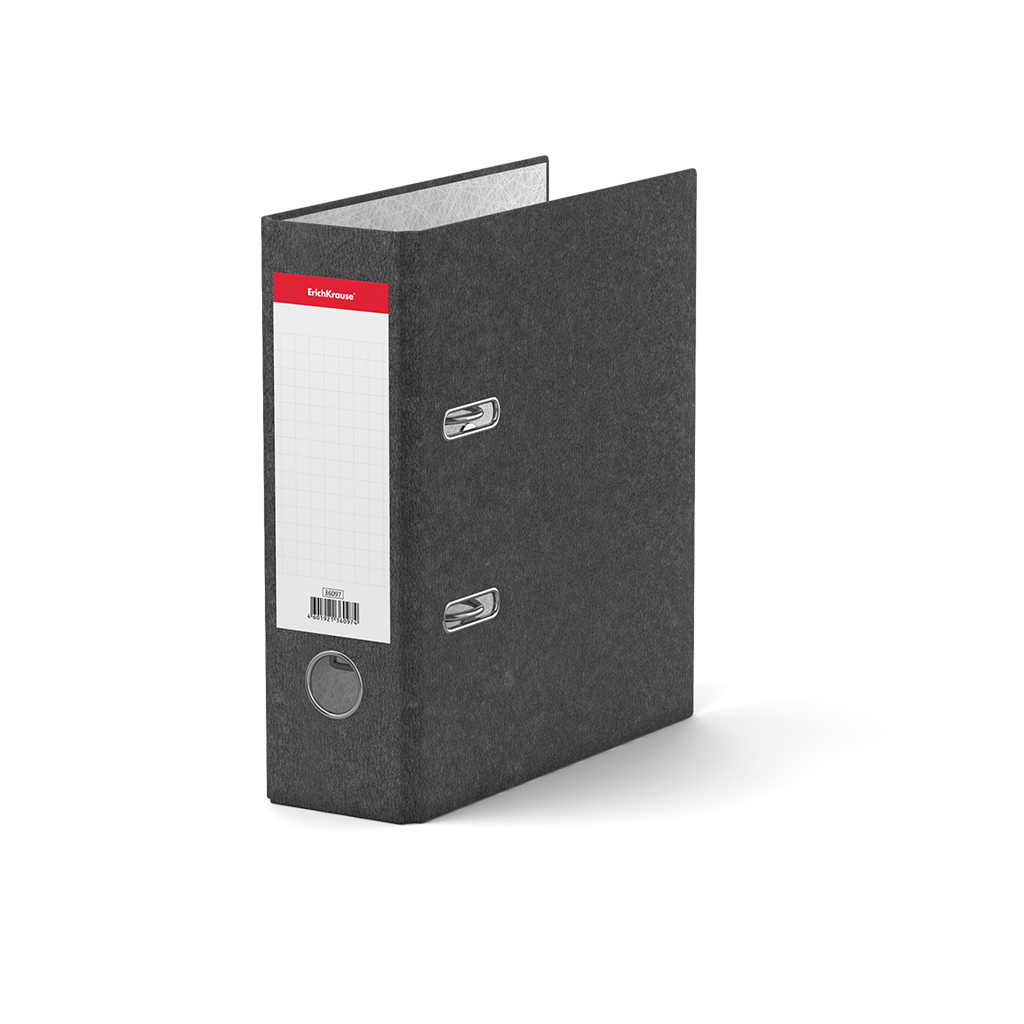 Папка регистр. ErichKrause А5 70мм Basic серый