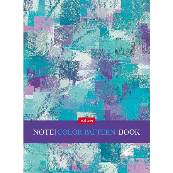 """Блокнот А6 48л Хатбер лам. """"Color Pattern"""""""
