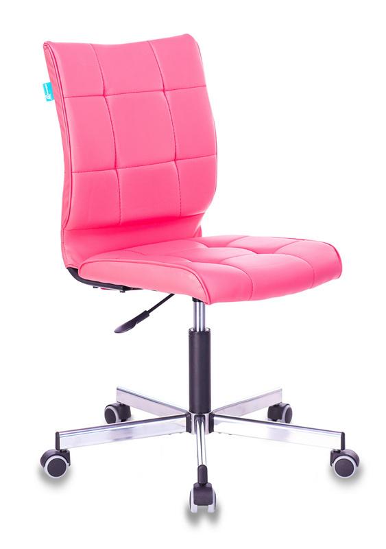 Кресло Бюрократ CH-330M/PINK б/подлокот. иск.кожа розовый