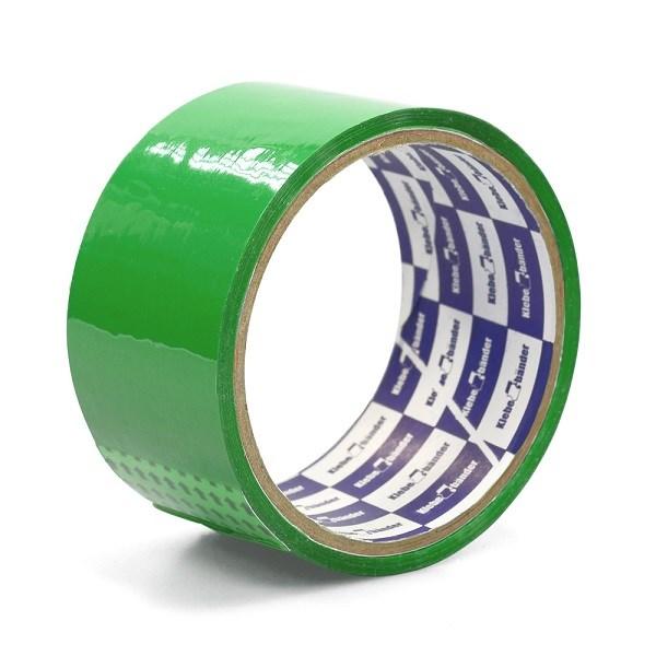 Клейкая лента упаковочная 48мм* 25м Klebebander зел. 45мк