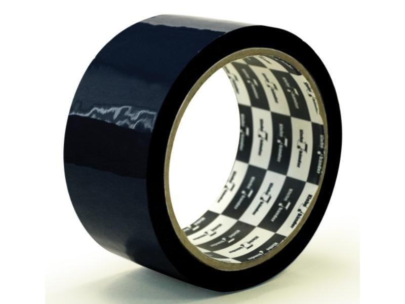 Клейкая лента упаковочная 48мм* 25м Klebebander черн. 45мк