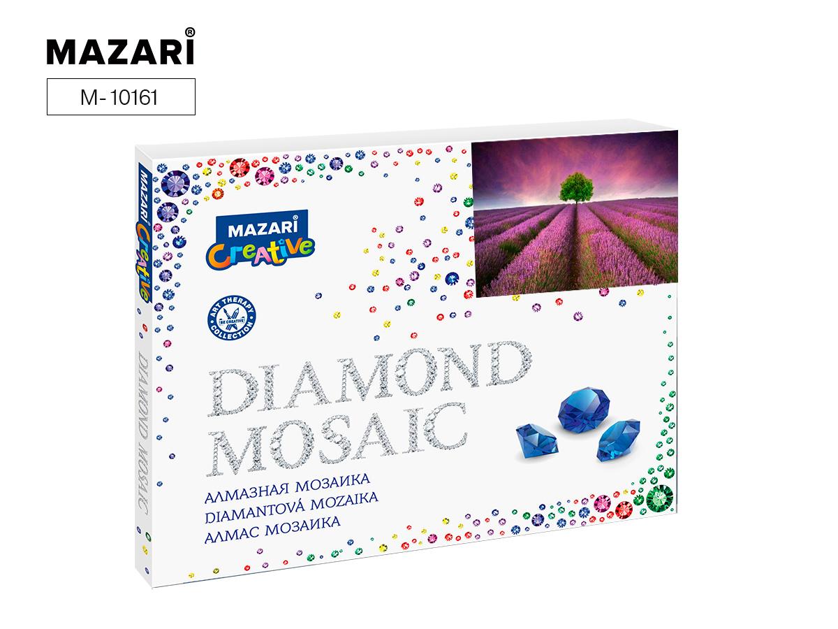 Алмазная мозаика полная выкладка 40*50см Лаванда