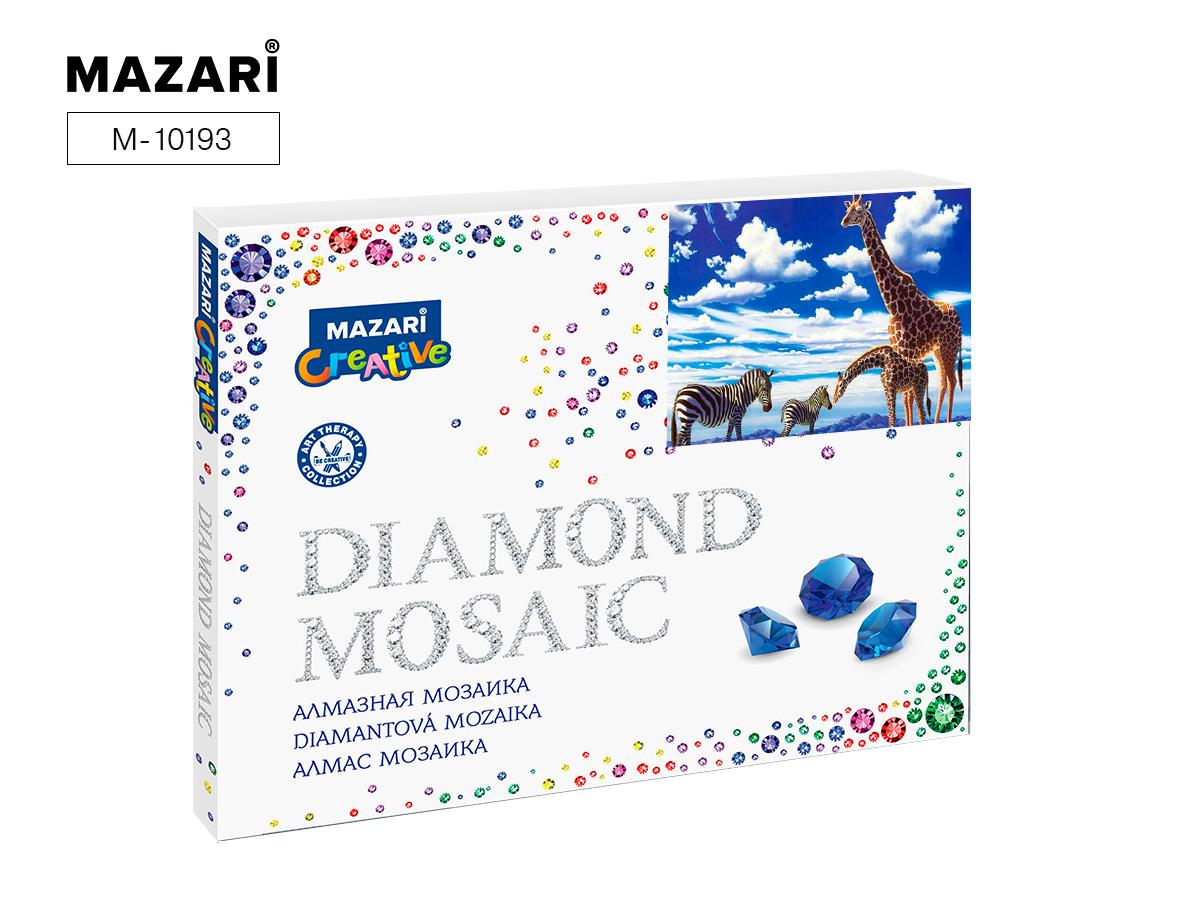 Алмазная мозаика полная выкладка 40*50см Саванна