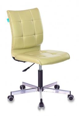 Кресло Бюрократ CH-330M/Green б/подлокот. иск.кожа зеленый