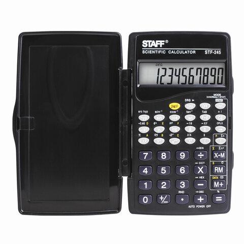 Калькулятор инжен. Staff STF-245 10-разр. 120х70мм