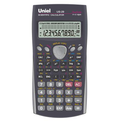Калькулятор инжен. Uniel US-29 10+2-разр. 2-хстр.
