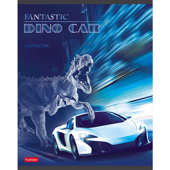 "Тетр. 48л Хатбер выб.лак ""Dino Car"""