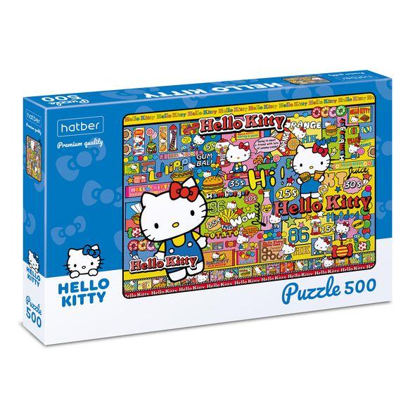 "Пазл  500 эл. 460*340мм Хатбер ""Hello Kitty"""