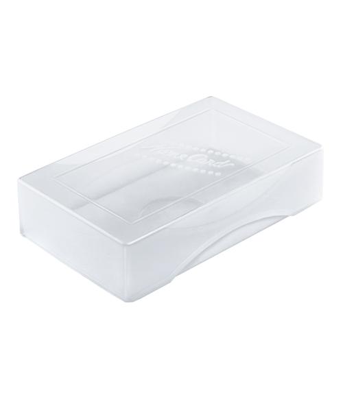 Коробка д/визиток СТАММ Name card прозрачная