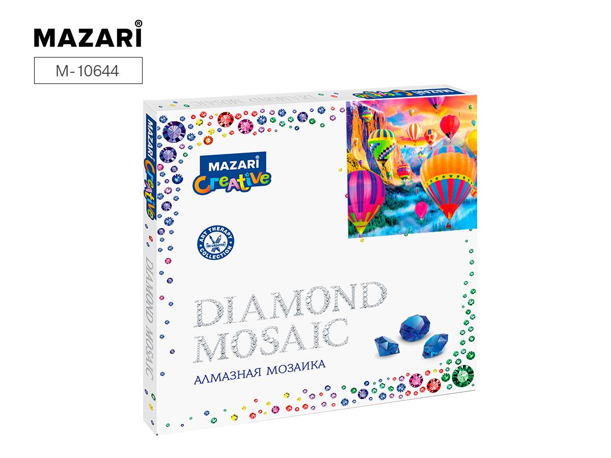 Алмазная мозаика 30*30см Воздушные шары частиная выкладка