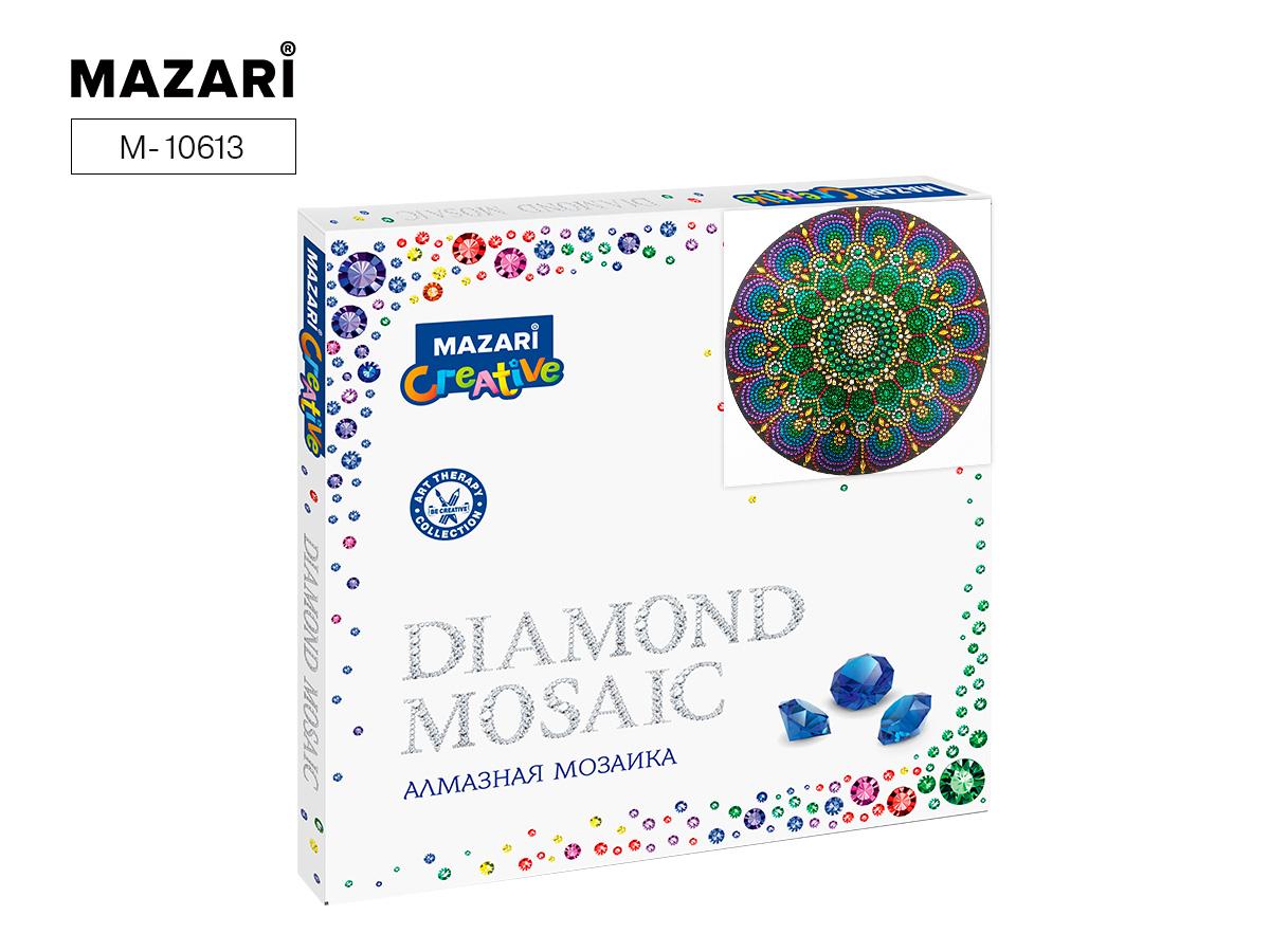 Алмазная мозаика 30*30см Орнамент 10