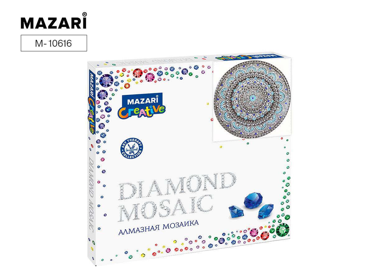 Алмазная мозаика 30*30см Орнамент 13