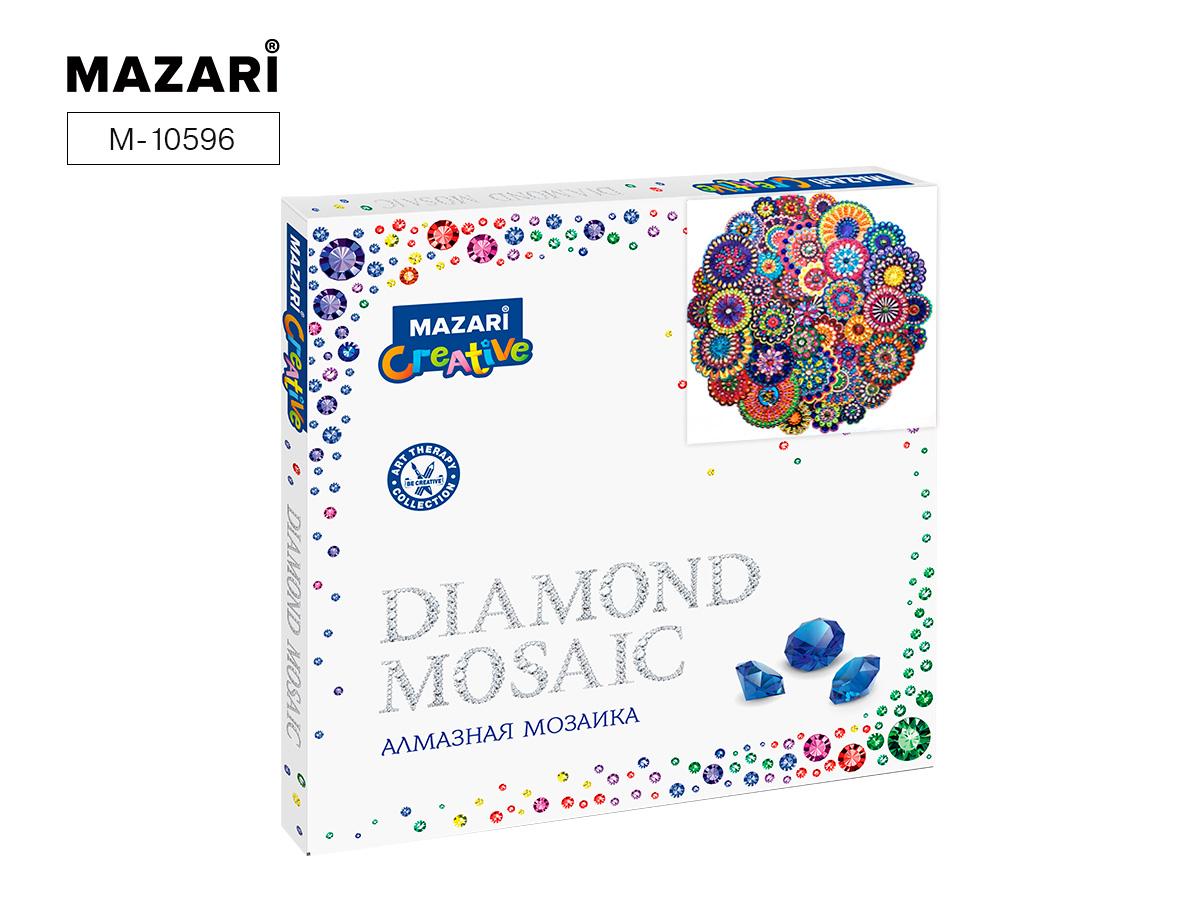 Алмазная мозаика 30*30см Орнамент 2