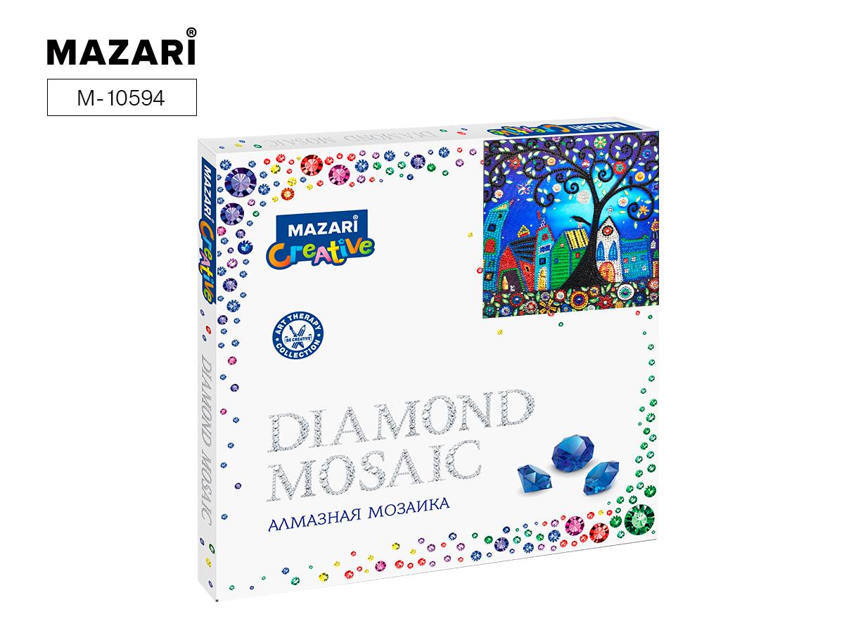 Алмазная мозаика 30*30см Сказочный городок