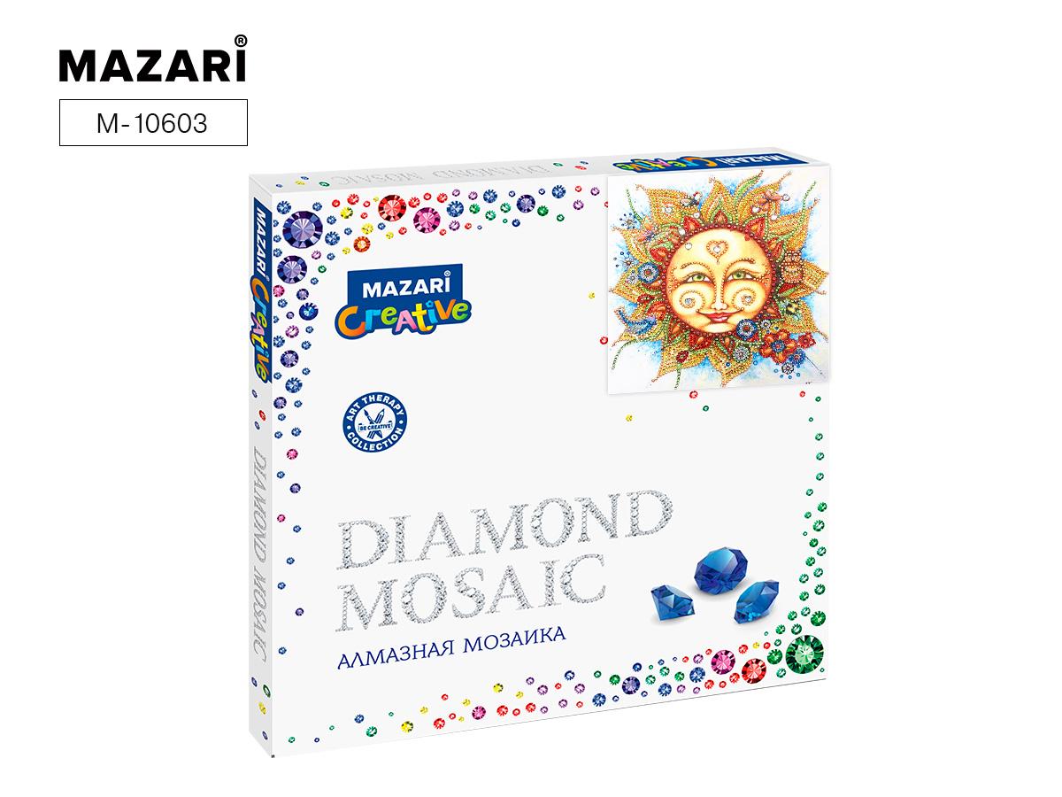 Алмазная мозаика 30*30см Солнышко