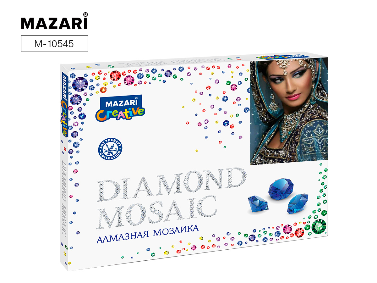 Алмазная мозаика 30*40см Индийская красавица 2