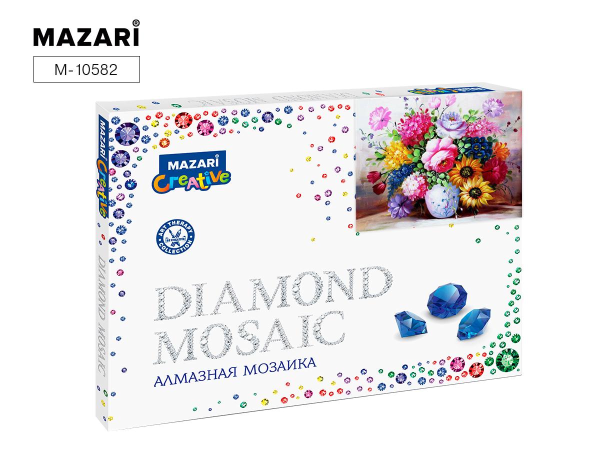 Алмазная мозаика рамка 30*40см Роскошный букет