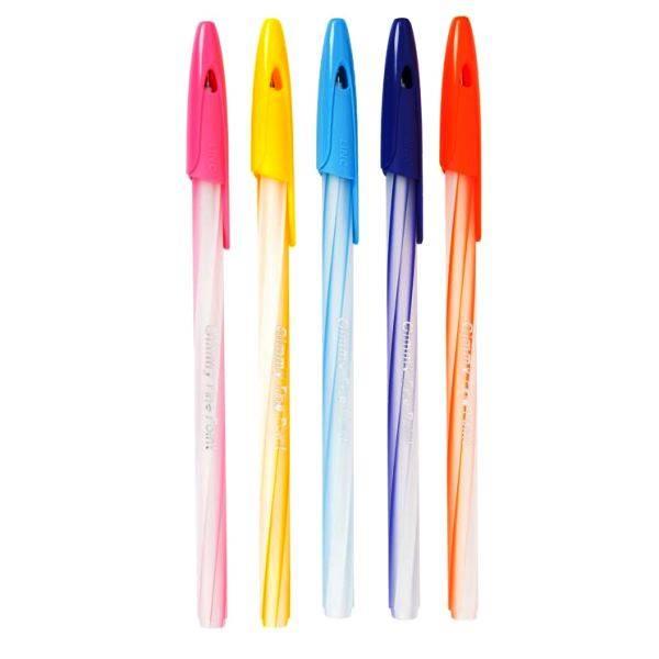 Ручка Linc Gimy 0,6 круглый корп. синяя