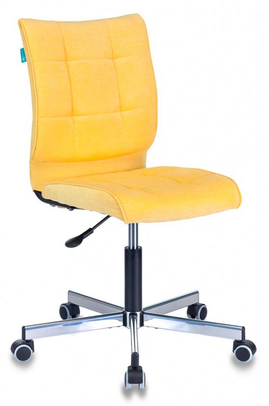 Кресло Бюрократ CH-330M/VELV74 желтый Velvet крестовина мет.
