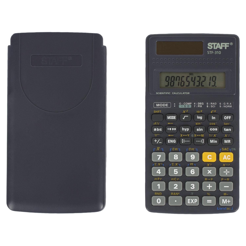 Калькулятор инжен. Staff STF-310 10+2-разр. 142х78мм