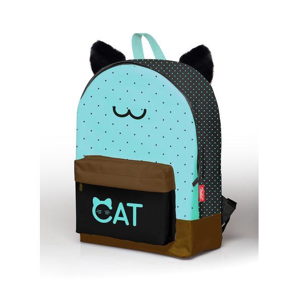"""Рюкзак Хатбер BASIC """"Cat"""" 1 отделение 1 карман"""