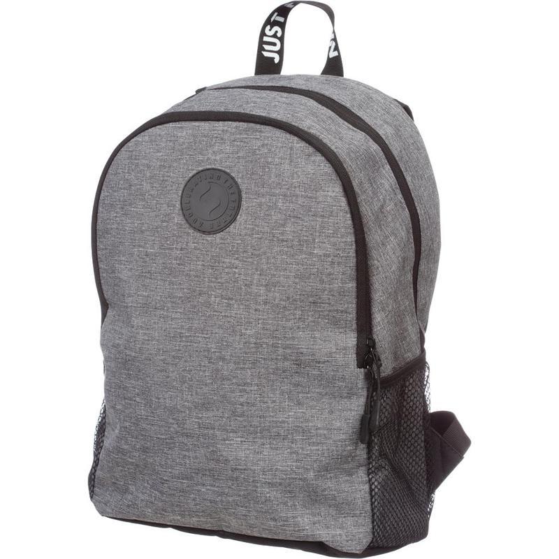 Рюкзак №1School Just серый 1 отделение 3 кармана