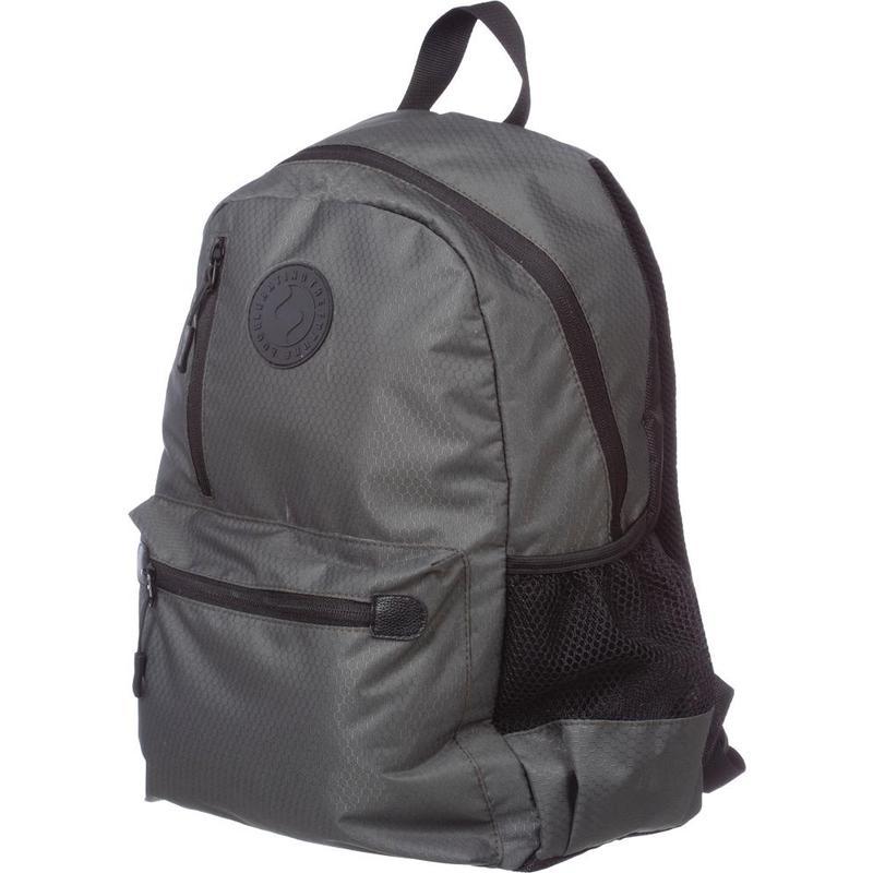Рюкзак №1School Smart серый 1 отделение 5 карманов