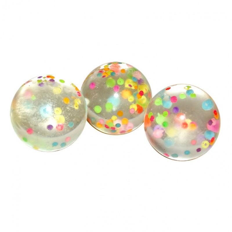 """Игра Прыгун """"Цветные шарики"""" d-4,5 см ассорти"""