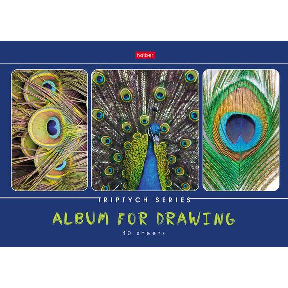"""Альбом д/рис. 40л Хатбер """"Я рисую мой мир"""""""