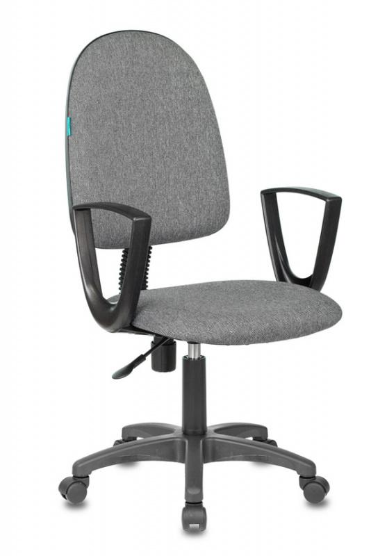 Кресло Бюрократ CH-1300N/3C1 Престиж+ серый