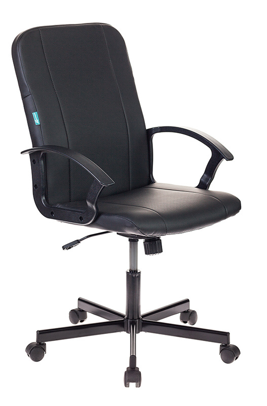 Кресло Бюрократ CH-551/BLACK черный искусственная кожа крестовина металл
