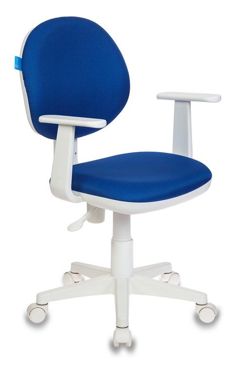Кресло детское Бюрократ CH-W356AXSN/15-10 т.-синий пласт.белый