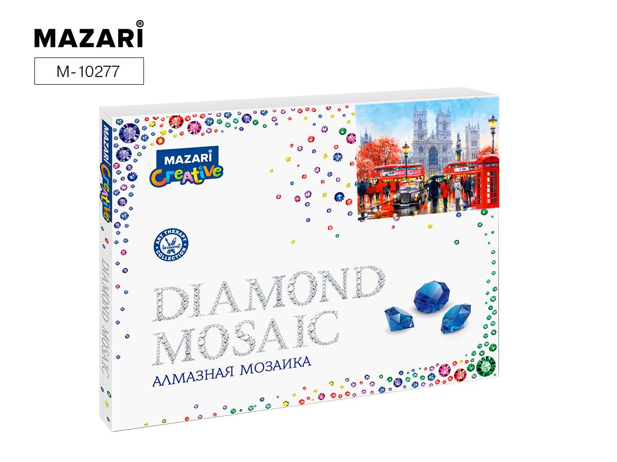 Алмазная мозаика частичная выкладка 40*50см Лондон