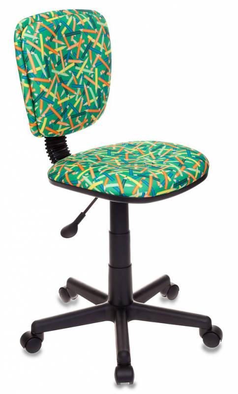 Кресло детское Бюрократ CH-204NX/PENCIL-GN Карандаши зеленый