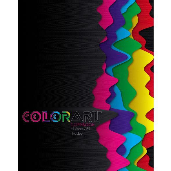 "Тетр. 48л Хатбер глянц.лам. ""ColorArt"" New"