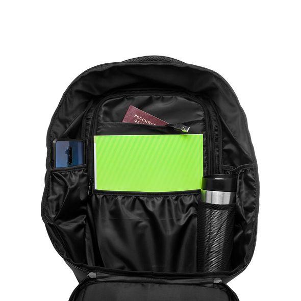 Рюкзак Хатбер LED Alpha 1 отд.+отд. для ноутб. черный